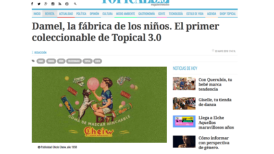 Topical 3.0, nueva revista digital de Elche, con Opennemas