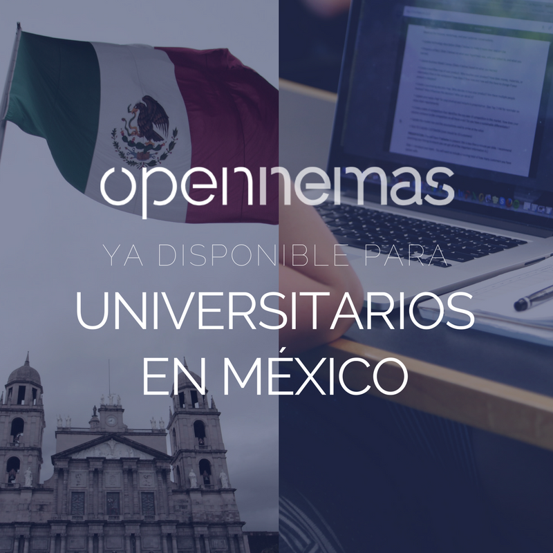 Opennemas, ya disponible para universitarios en México
